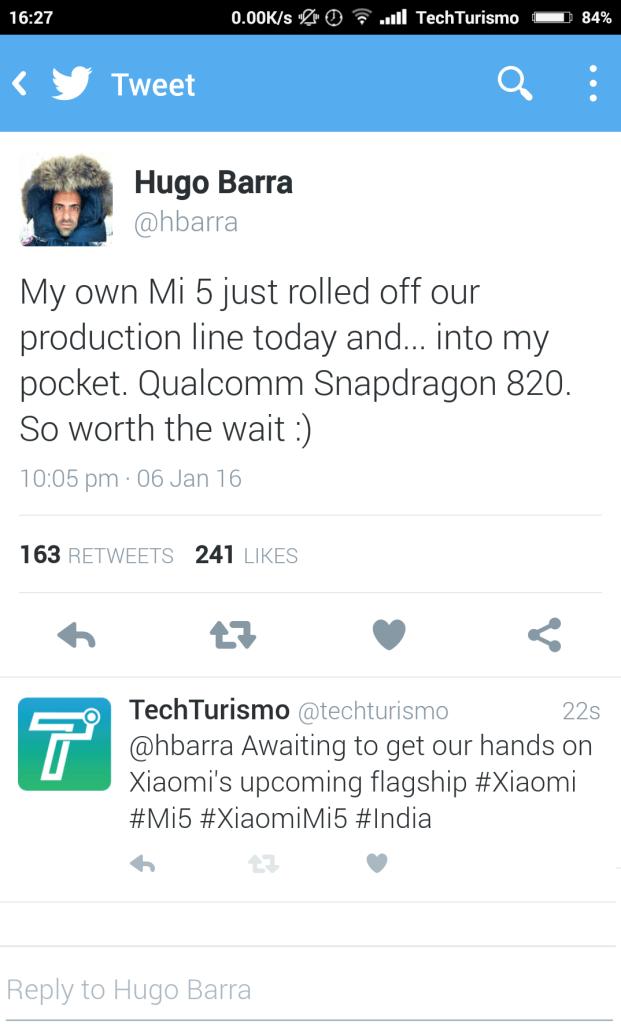 tweet techturismo